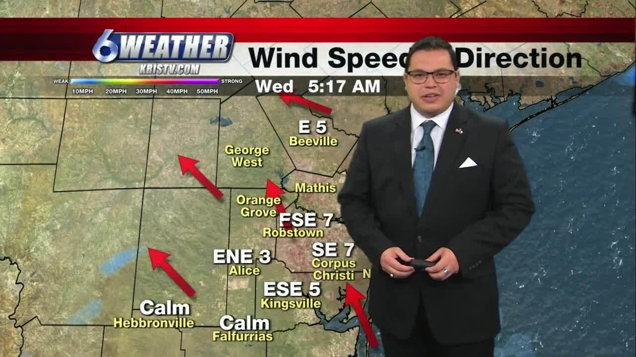 Juan Acuña's weather for Feb. 3, 2021