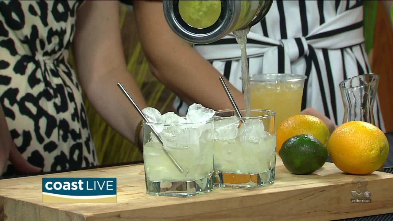 Getting a taste of summer with fresh pressed cocktails on CoastLive