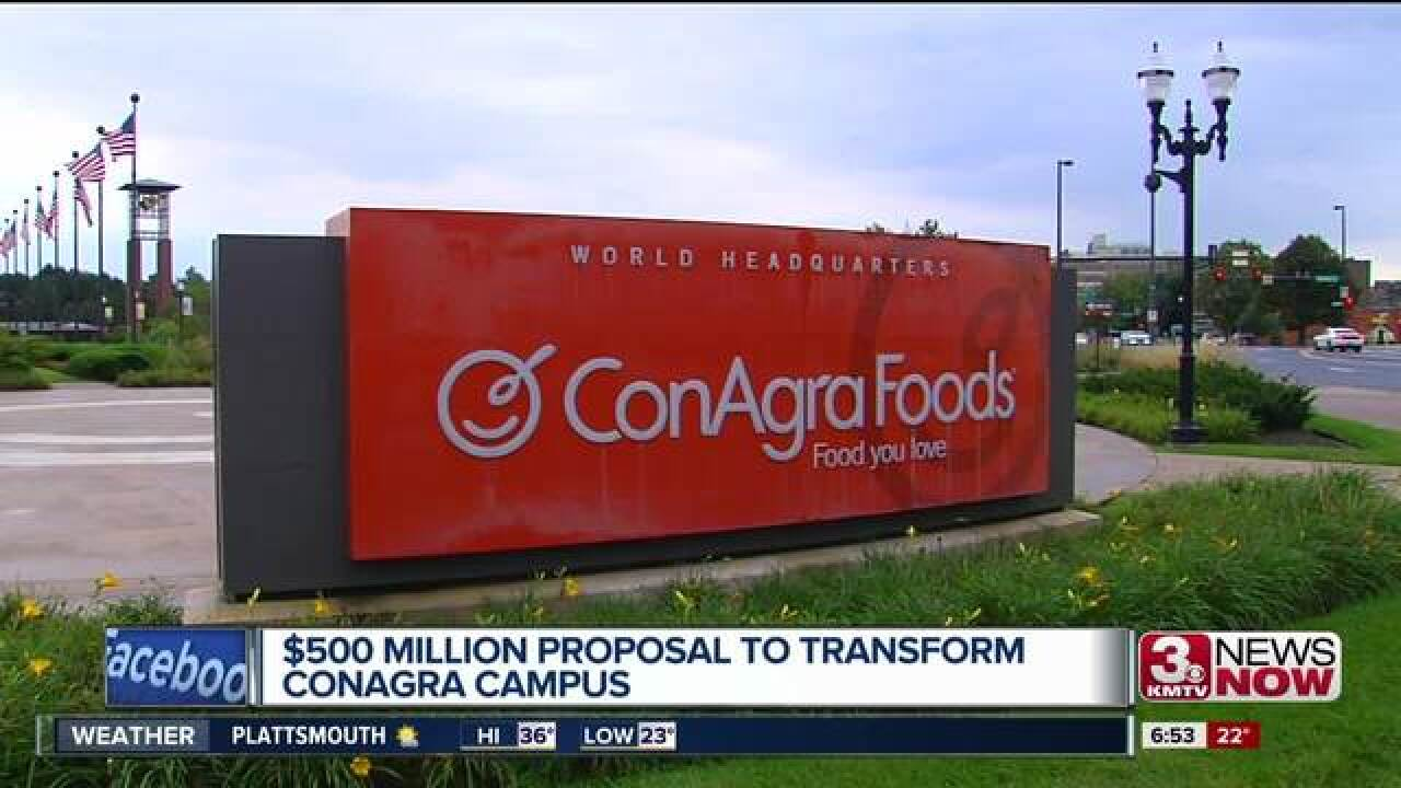Conagra set for major redevelopment project