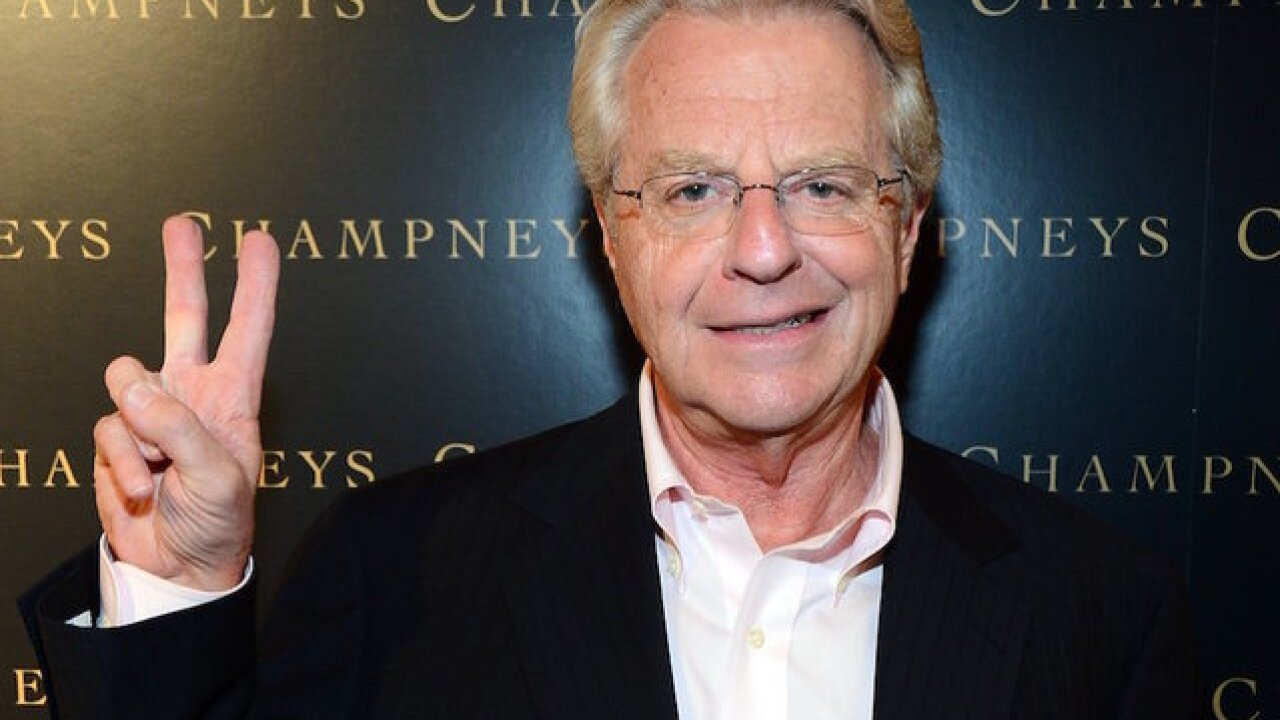 Jerry Springer is headed back to daytime TV as 'Judge Jerry'