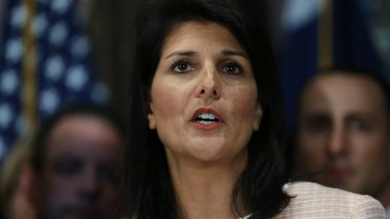 Nikki Haley: Sexual harassment accusers shouldn't be blamed or second-guessed