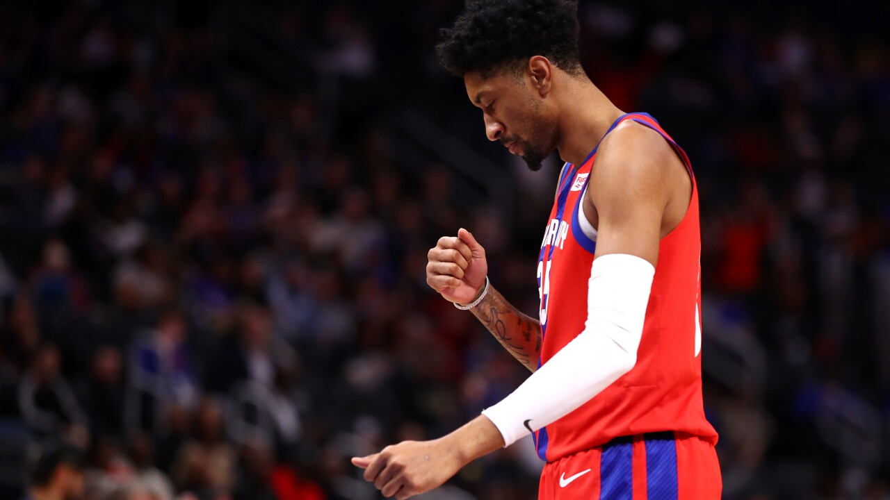 Christian Wood scores career-high 28 as Pistons blow out Spurs