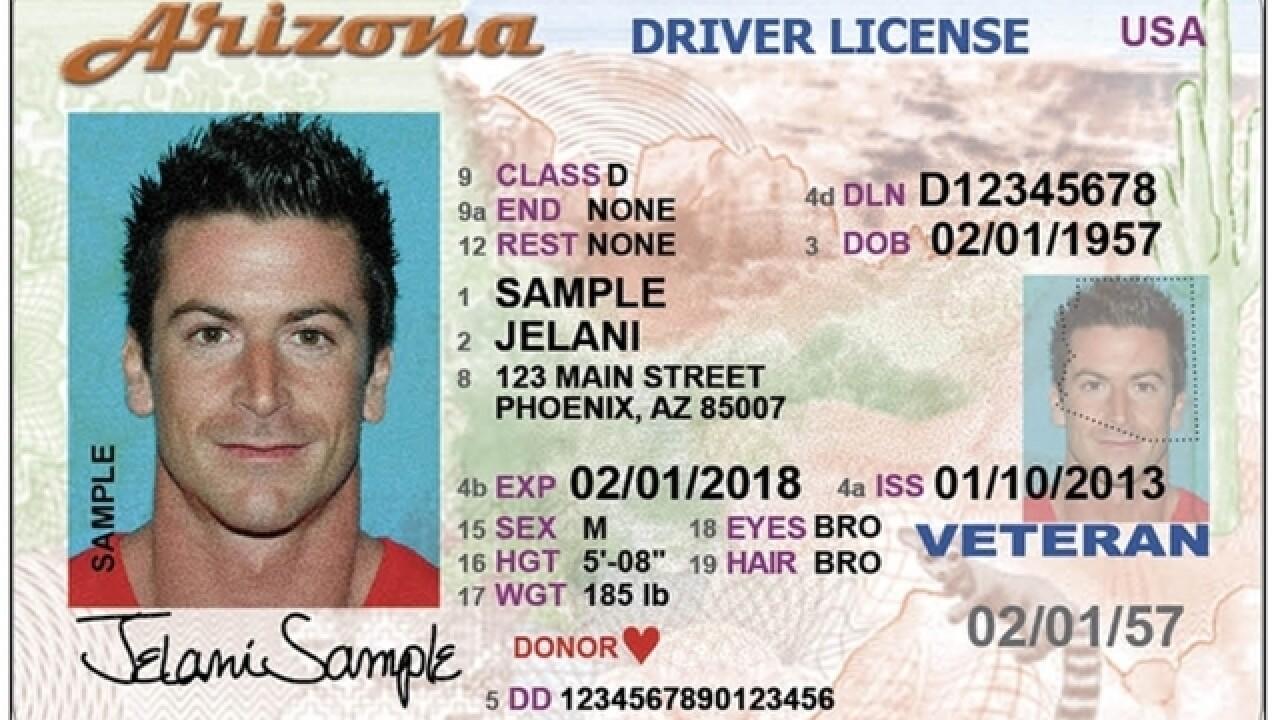 new az drivers license law