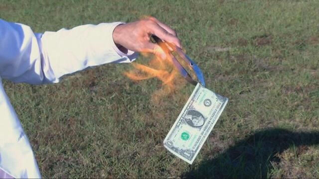Tsaparis Tscience: Burning Your Money