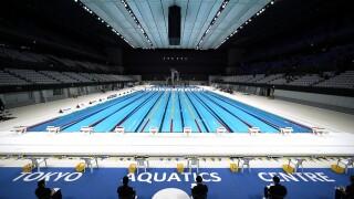 APTOPIX Olympics Tokyo Test Event
