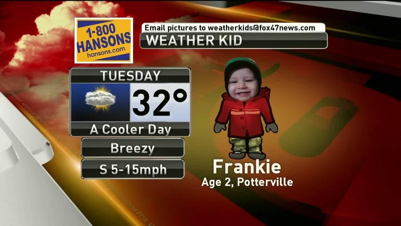 Weather Kid - Frankie - 2/5/19