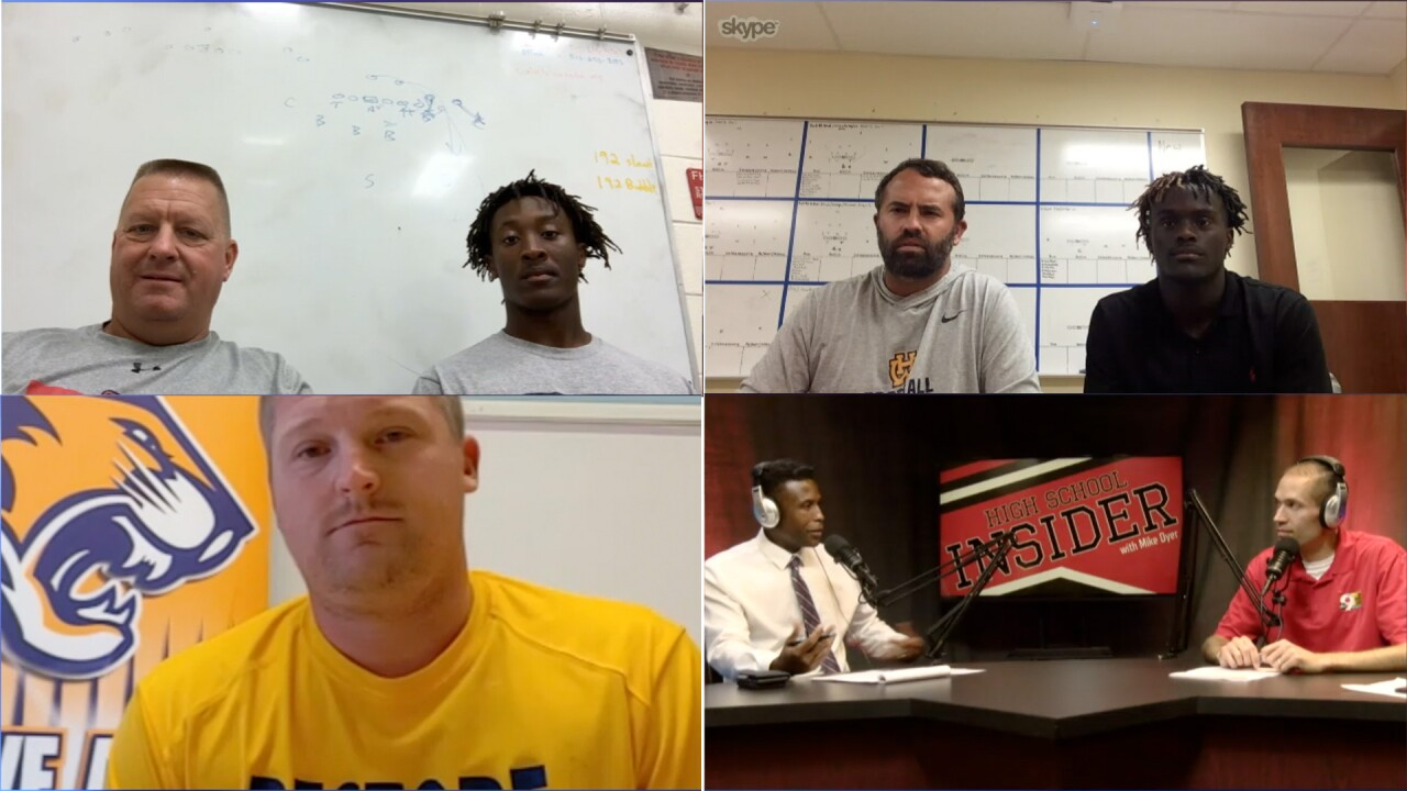 Walnut Hills coach Gerry Beauchamp, Talawanda coach Larry Cox and Cincinnati College Preparatory Academy coach Jeremy Pflug joined the WCPO High School InsiderWalnut Hills coach Gerry Beauchamp, Talawanda coach Larry Cox and Cincinnati College Preparatory Academy coach Jeremy Pflug joined the WCPO High School Insider