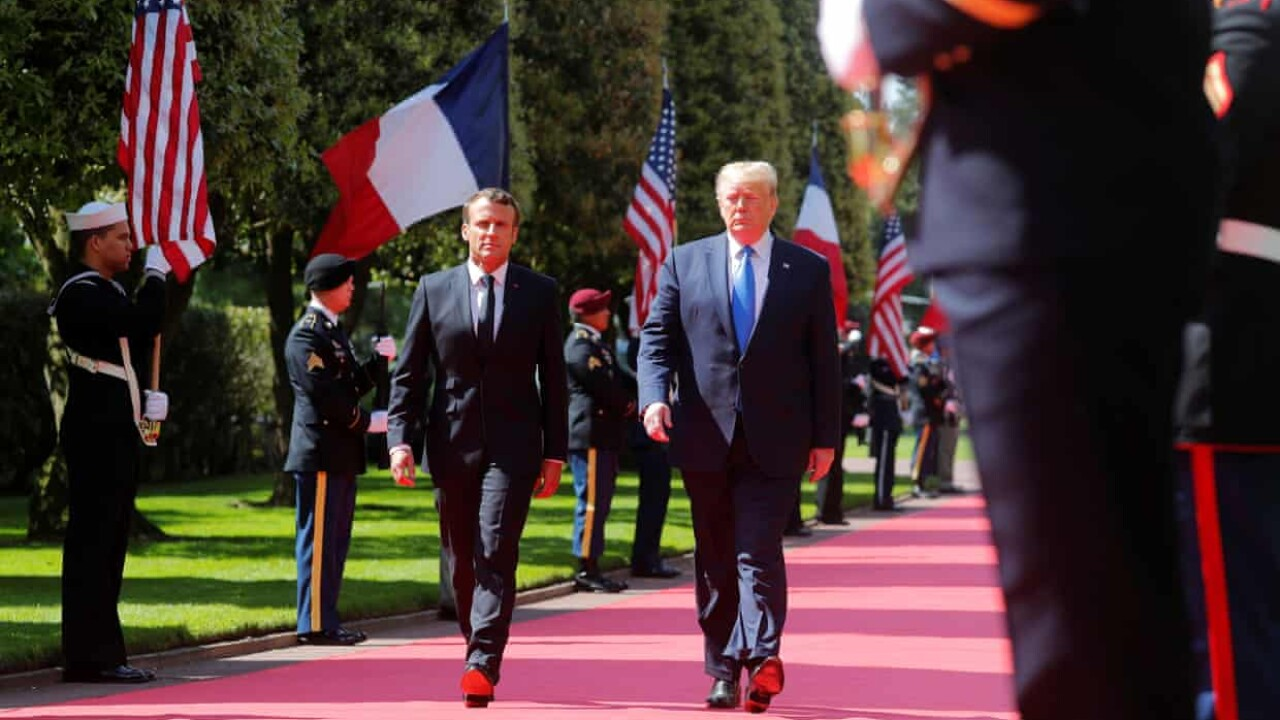 Trump joins world leaders for 75th anniversary of D-Day invasion