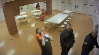 Inmate attack