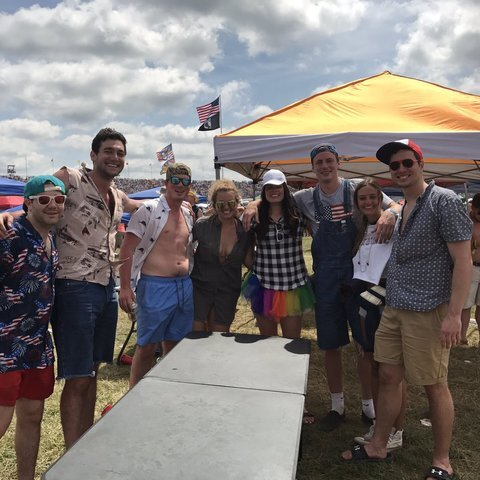 PHOTOS: Party in Turn 3