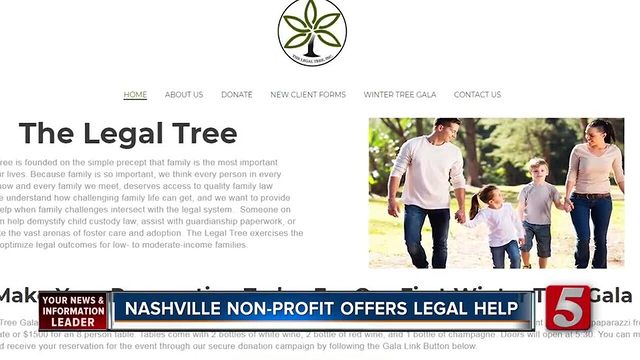 Nashville Non-Profit, The Legal Tree, Helping Low-Income Families Fight Legal Battles
