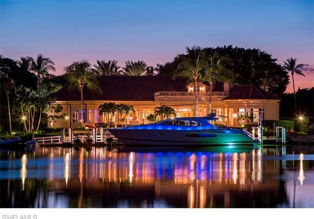Pricey home: 7,707 sqft Naples home on the market for $14,750,000