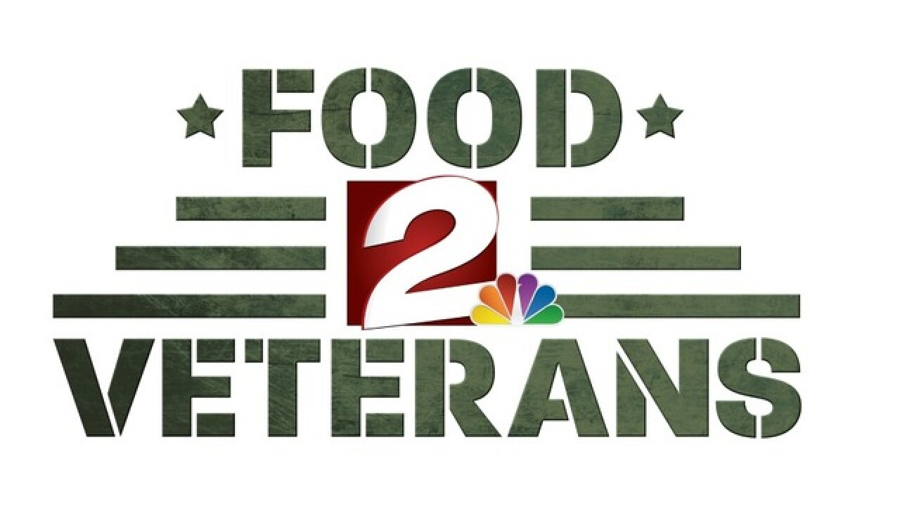 Food 2 Veterans broke one-day food drive records with the help of Broken Arrow and Jenks