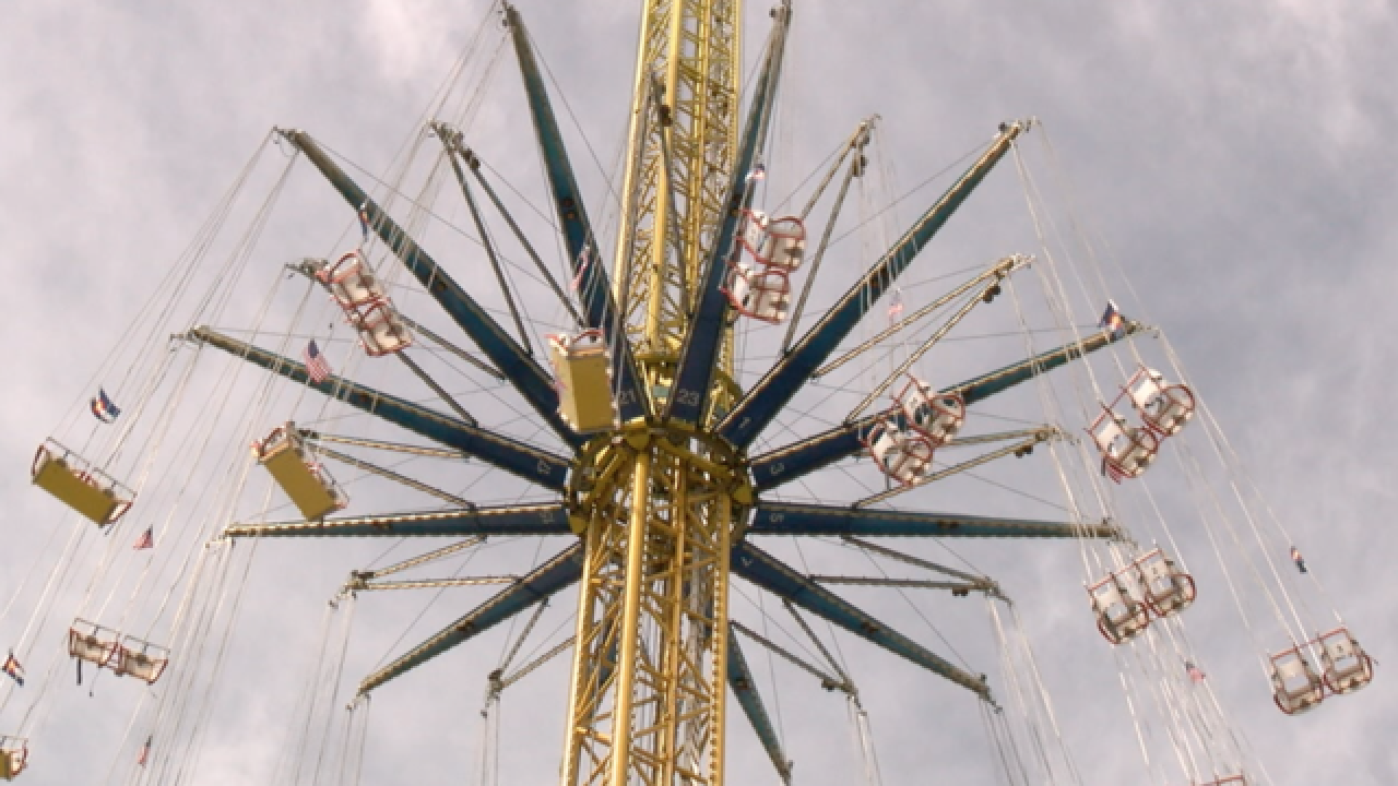 GALLERY: New high-flying swing at Elitch Gardens
