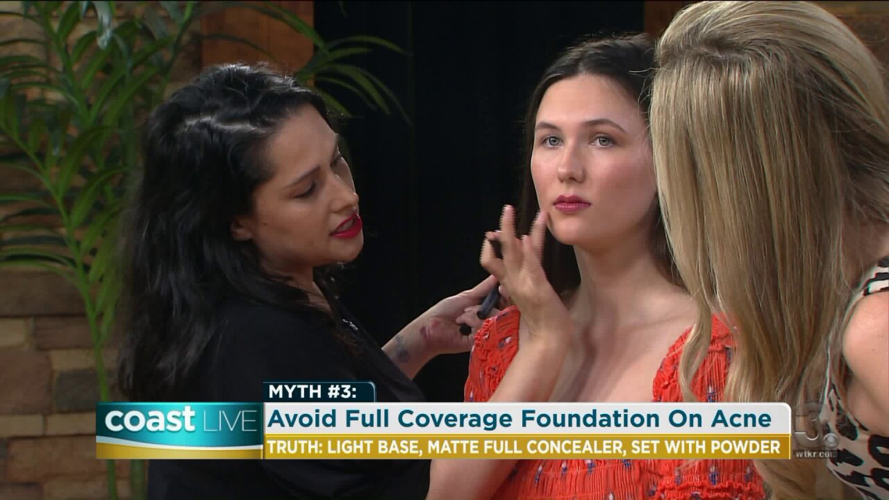 Debunking common beauty myths with a lesson in makeup on CoastLive