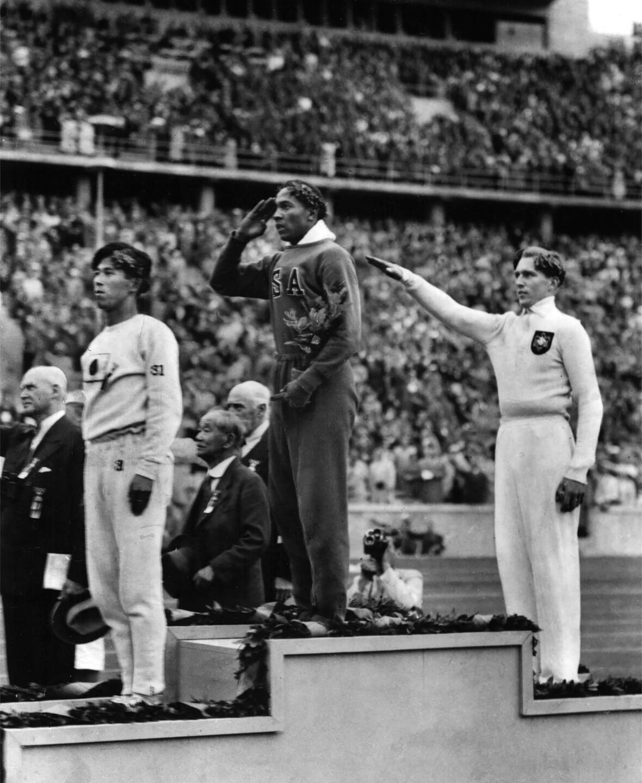1936 Berlin Games Unlikely Allies