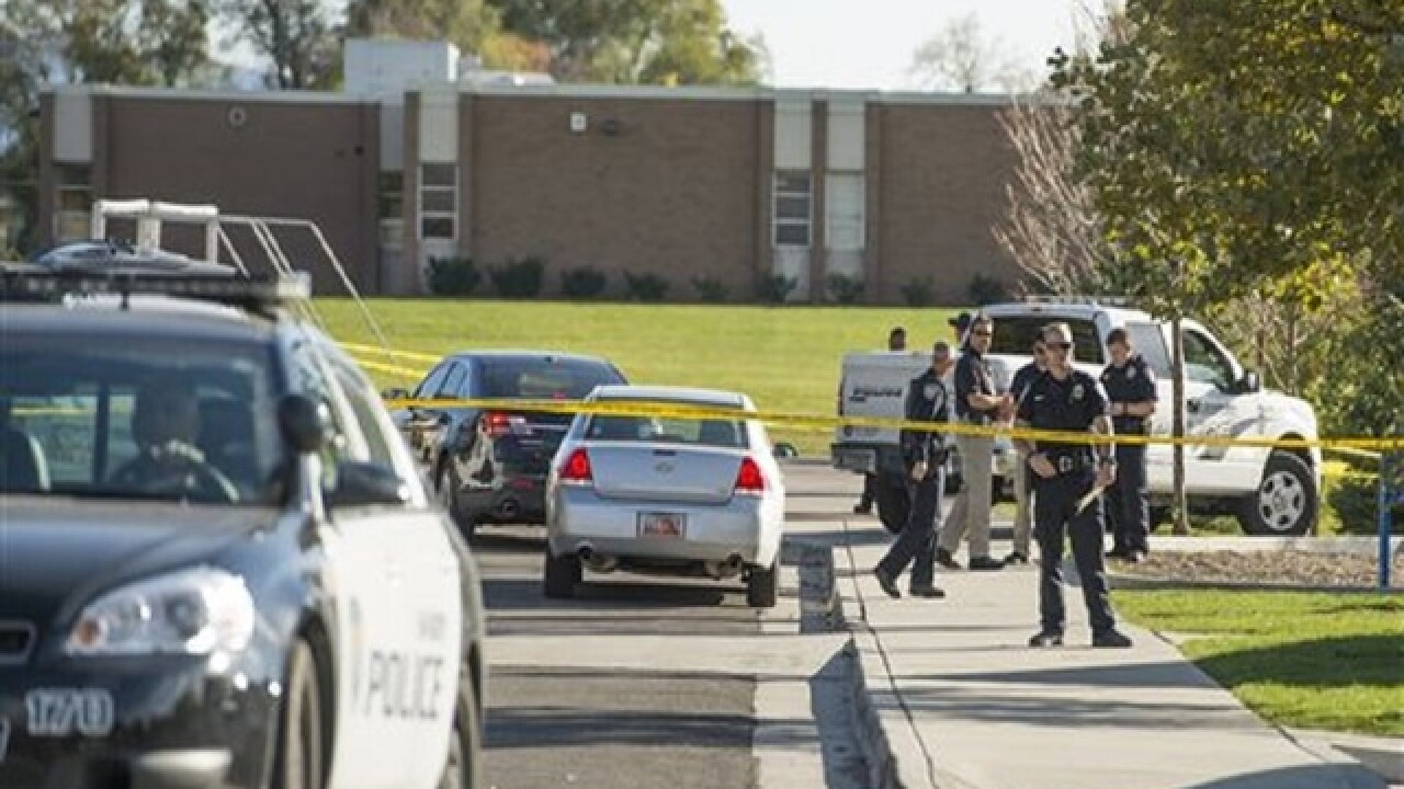 Students witness shooting of teen outside Utah middle school