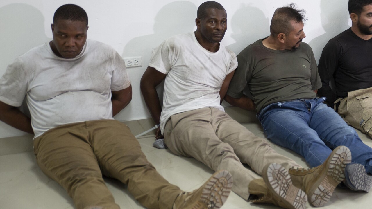James Solages and Joseph Vincent, South Florida residents accused in Haitian president's assassination