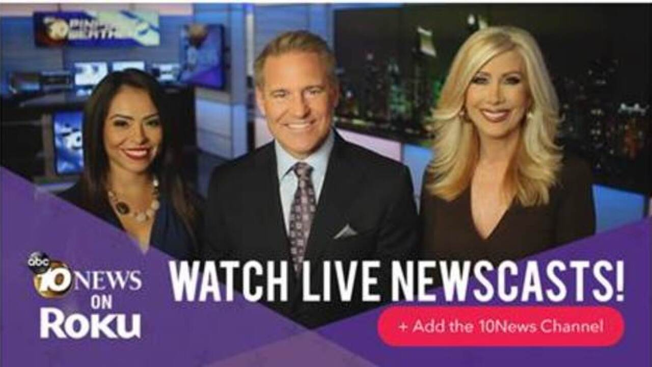 Watch 10News now on Roku!