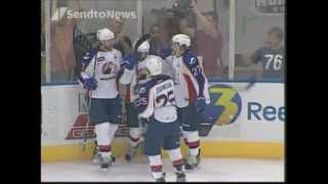 Admirals win game one of Calder Cup Finals