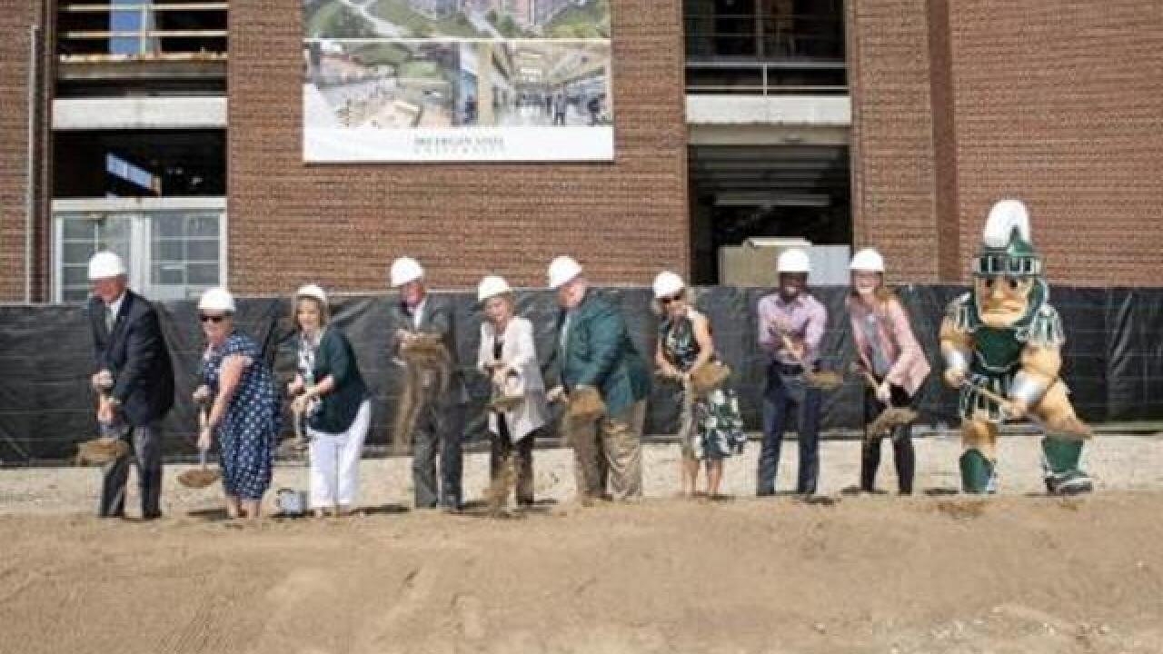 Construction begins on one-of-a-kind campus building