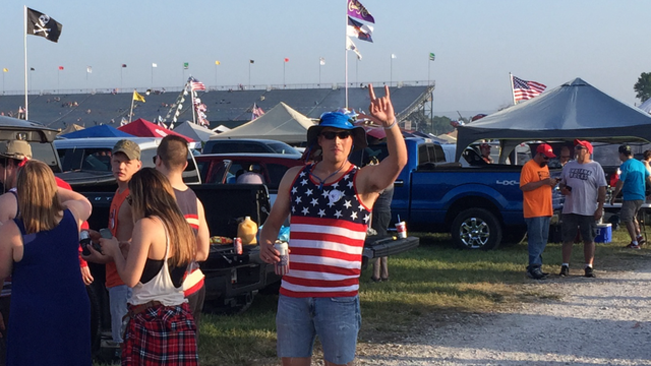 America at the Indy 500