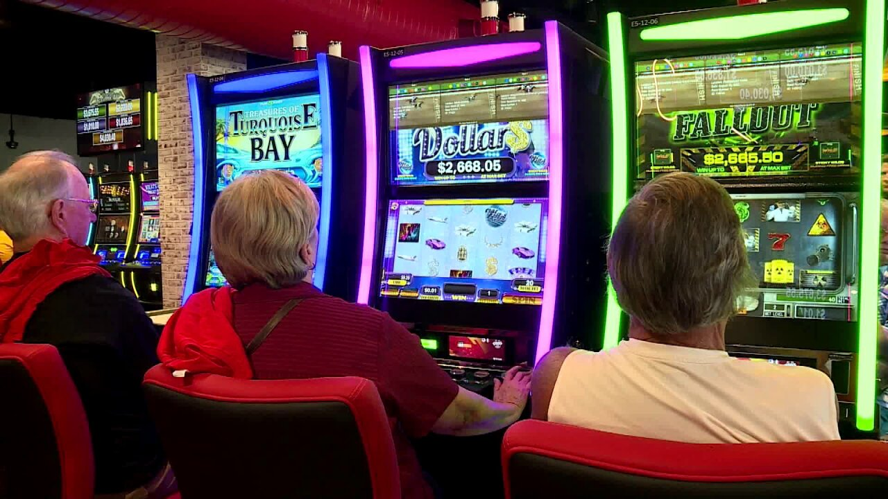 Slot machine-like gaming comes to Colonial Downs