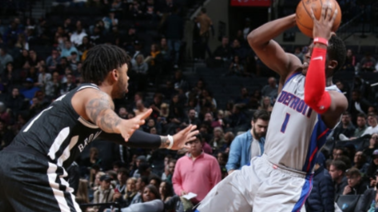 Reggie Jackson, Stanley Johnson lead Pistons to win over Nets