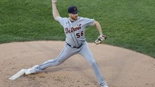 Spencer Turnbull Tigers White Sox Baseball