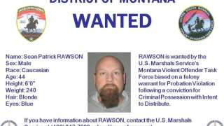 BOLO Alert – Wanted In Montana: Sean Patrick Rawson