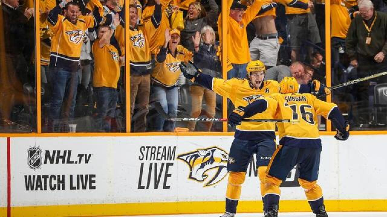 Predators Look To Match Avs' Desperation In Game 3