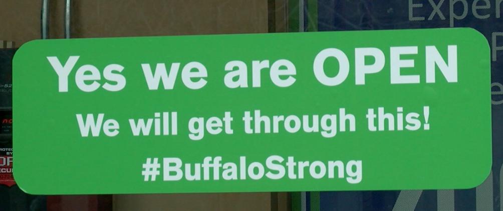 Zoom Buffalo sign