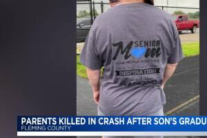 Fleming County parents killed in crash on the way home from high school graduation