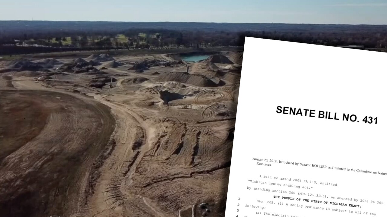 Senate Bill 431 Gravel Mining Legislation