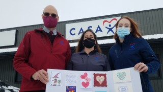 Thousands of Valentine's Day cards donated to local CASA