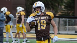 Experienced receiver corps returns for Wyoming Cowboys' spring game Saturday