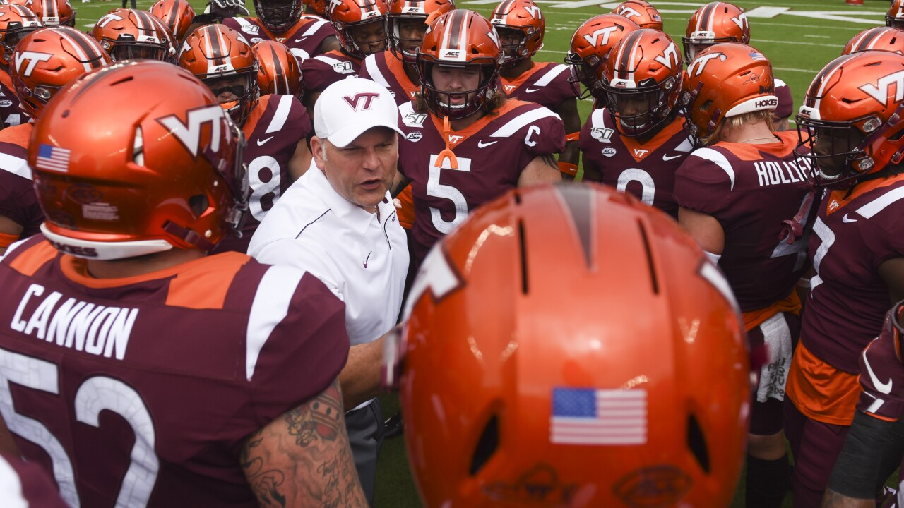 Virginia Tech football beats UNC 43-41 in wild, six-overtime game