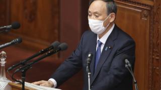 Japanese Prime Minister Yoshihide Suga