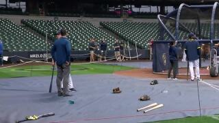 Brewers' final preparations before NLDS