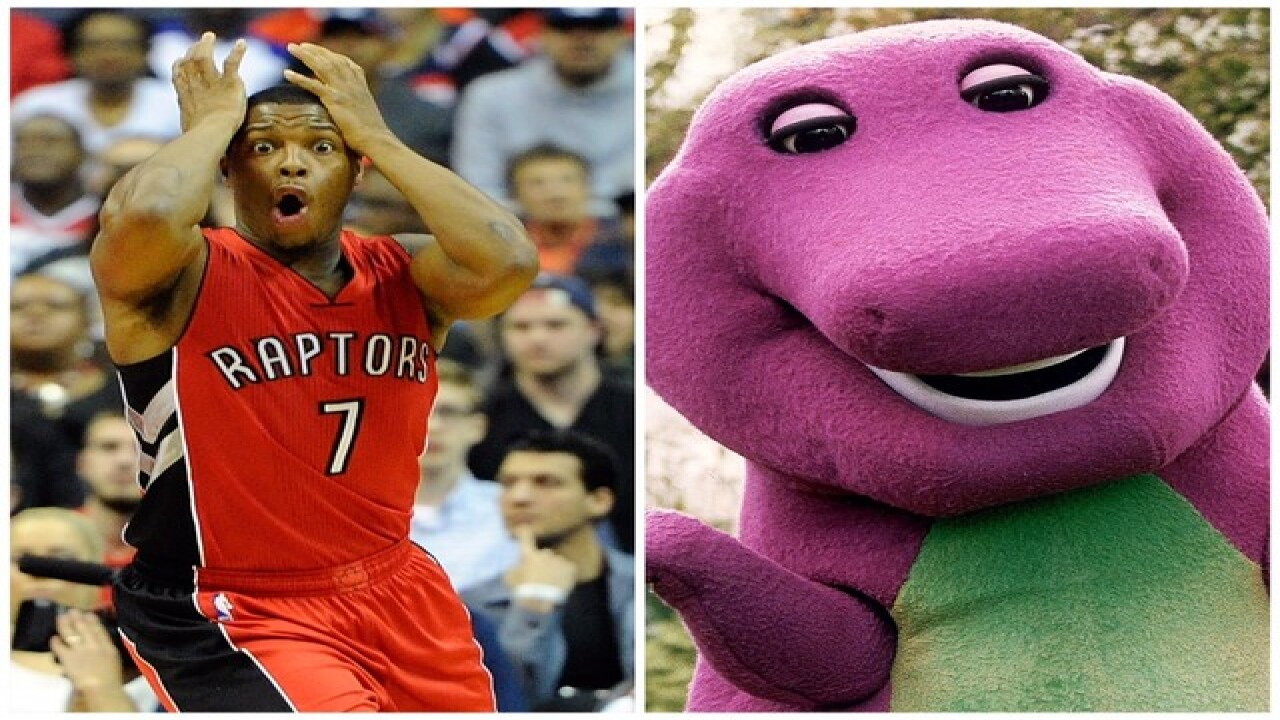 Milwaukee Bucks troll Toronto Raptors by playing  Barney  theme song during  player introductions 263d693eb