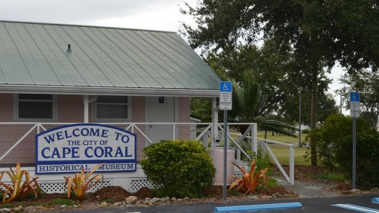 Fossil bone found during City's extension project, donated to Cape Coral Historical Museum