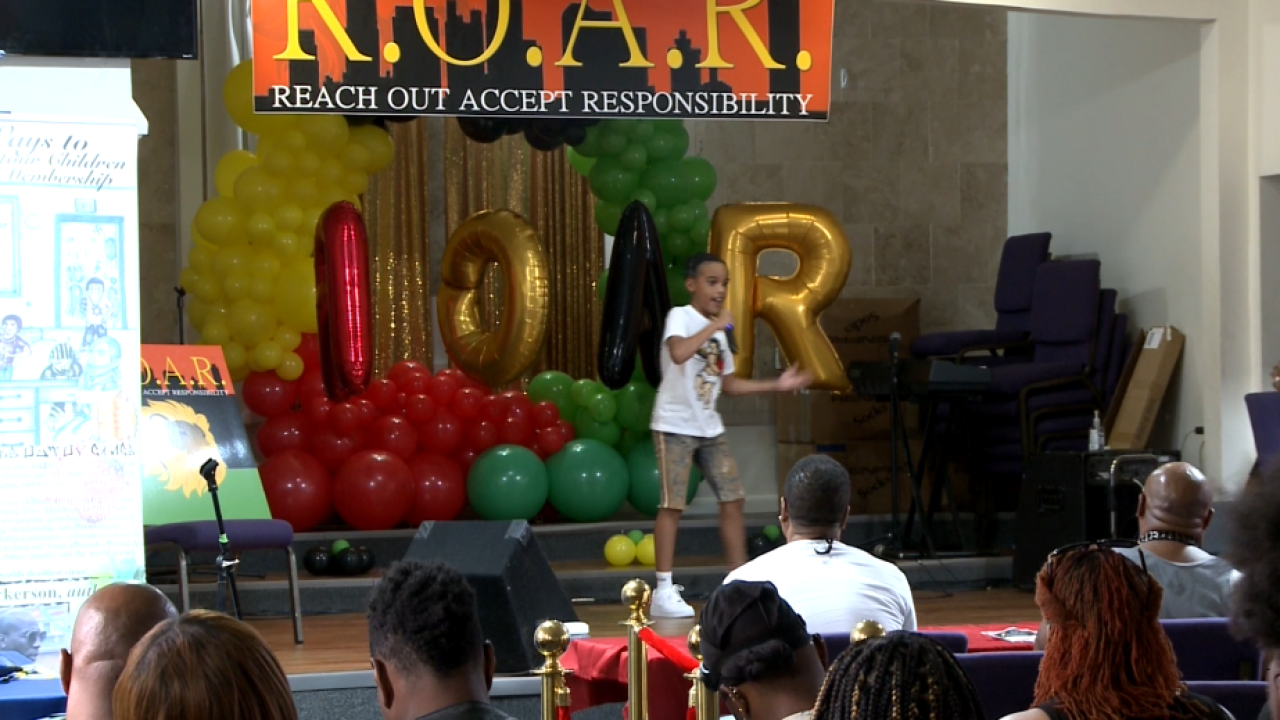 R.O.A.R. organization working to end youth gang violence