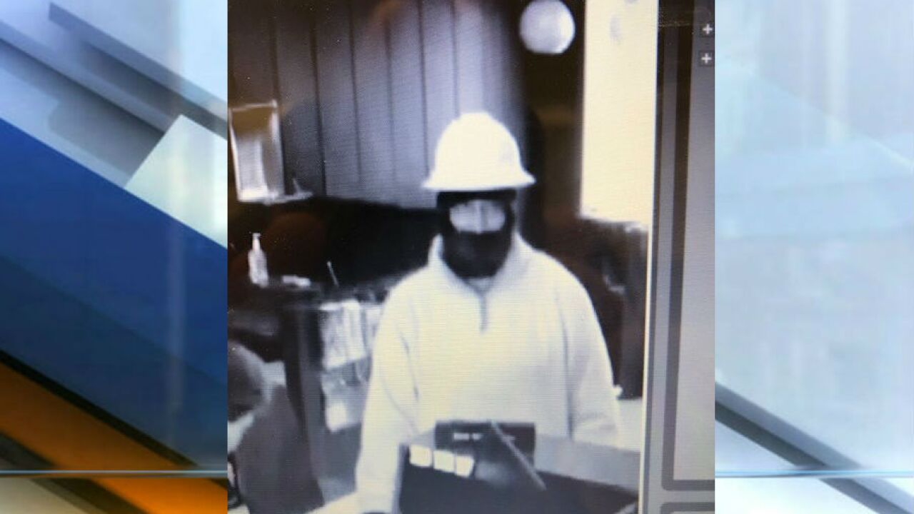 Indiana State Police looking for Hillsboro bank robbery suspect