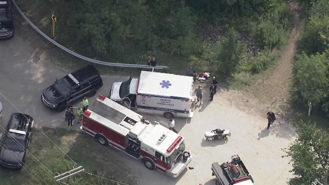 Two people pulled from Huron River in Scio Twp.