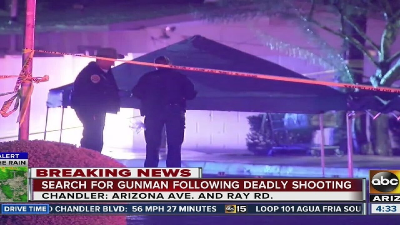 PD: Investigate Chandler deadly shooting