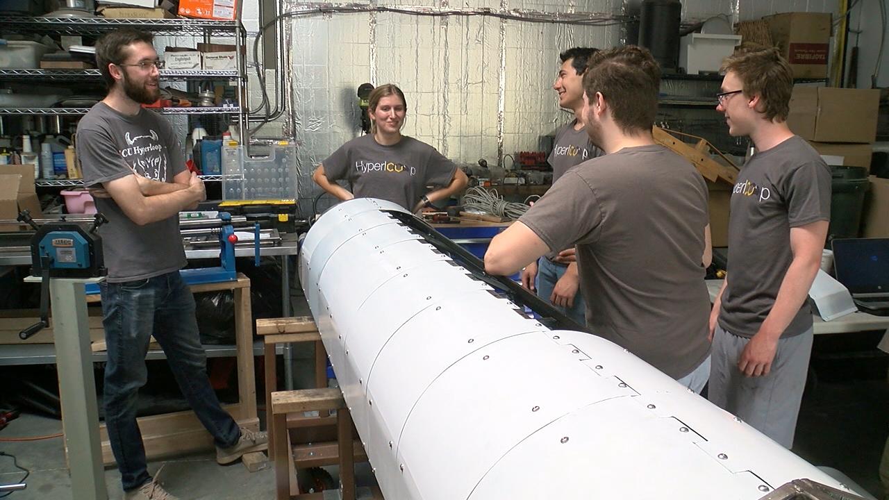 CU Hyperloop team