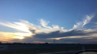 Sunset in Whitsett