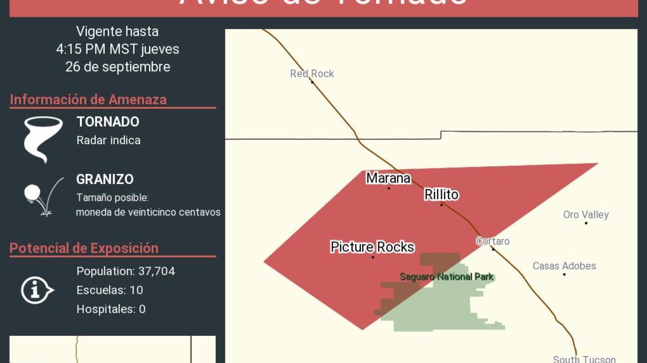 Tornado Warning Marana