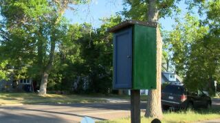 """""""Little Blessing Box"""" goes up in Great Falls"""