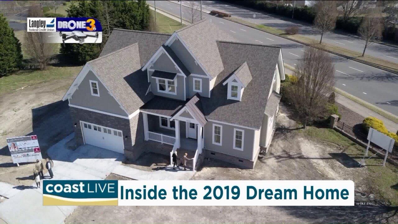 A sneak peek inside of the 2019 St. Jude Dream Home on CoastLive
